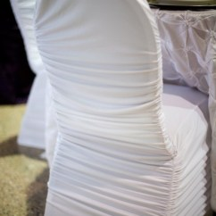 White Ruched Chair Covers Best Ergonomic Chairs Madeline's Highlights ~