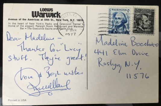 RussellAutographPostcard1977