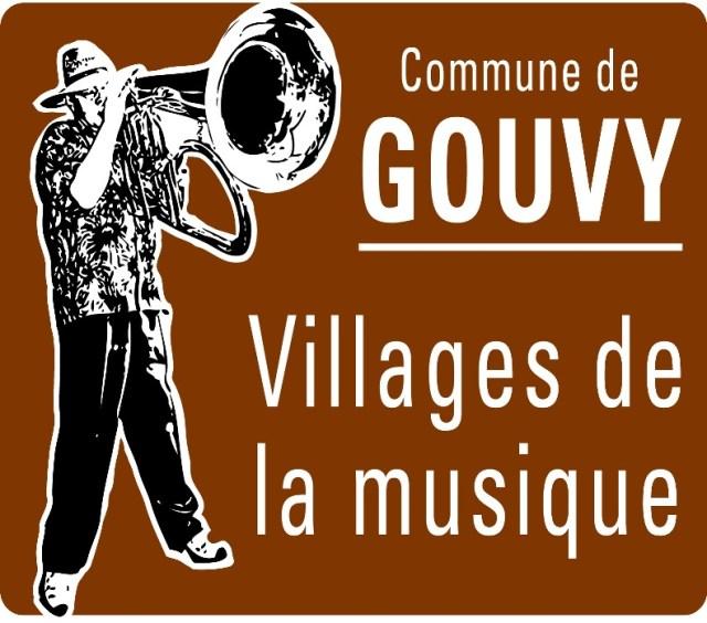 Plaque de GOUVY - Villages de la Musique