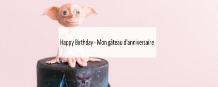 Gâteau d'anniversaire- Harry Potter - Made me Happy - Blog Bordeaux Lifestyle (cover)