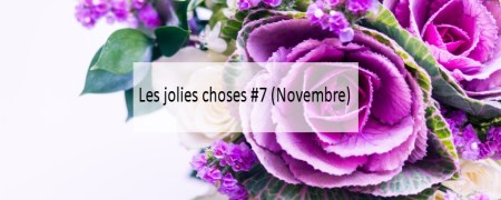 Les jolies choses #7 (Novembre) - Blog Made Me Happy Bordeaux (cover)