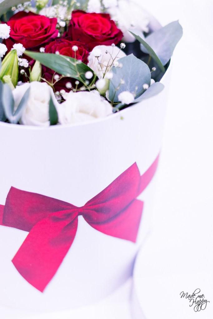 Bouquet Fleurs saint Valentin - Blog lifestyle Bordeaux