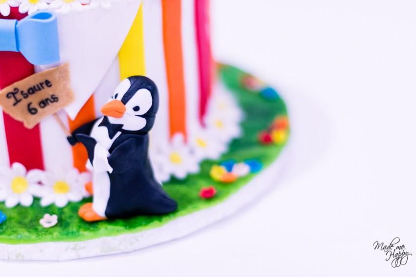 Gâteau anniversaire Mary Poppins - Les Gateaux de Lilou - Cake