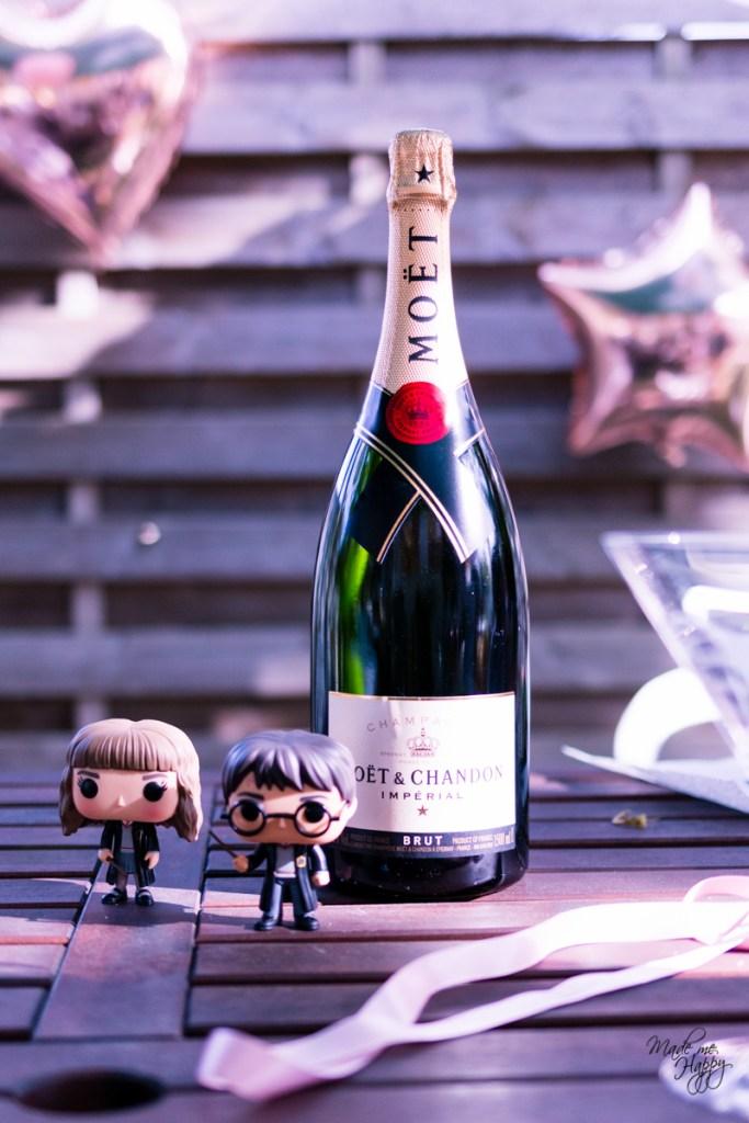 Champagne Magnum Moët - Fête anniversaire femme - Blog lifestyle Bordeaux