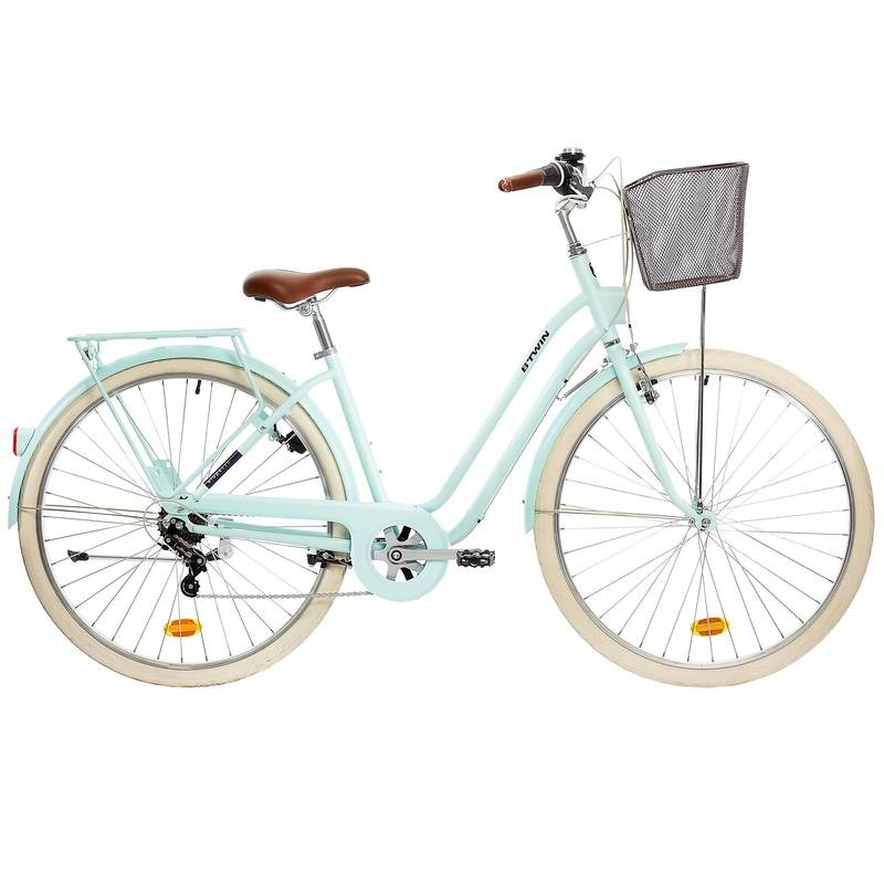VELO VILLE ELOPS MINT - B'TWIN - DECATHLON