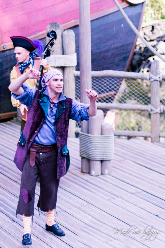 Spectacle jack Sparrow - Disneyland Paris - Blog lifestyle borde