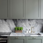 Minimal Kitchen In Sage Green And Marble Mademoiselle A Minimalist Fashion Blog