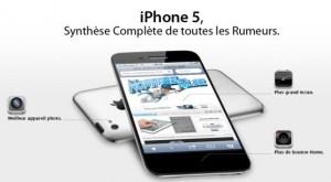 Description fonctionnalités iPhone 5