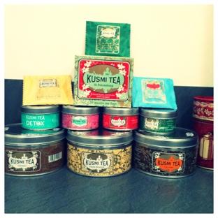 Photo de ma collection de Kusmi Tea