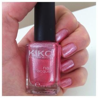 Photo du Vernis Kiko Pink Microglitter