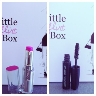 Photos des produits de la My Little Flirt Box