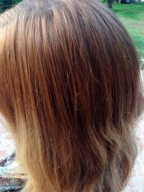 aprs - Gele Claircissante Garnier Sur Cheveux Colors