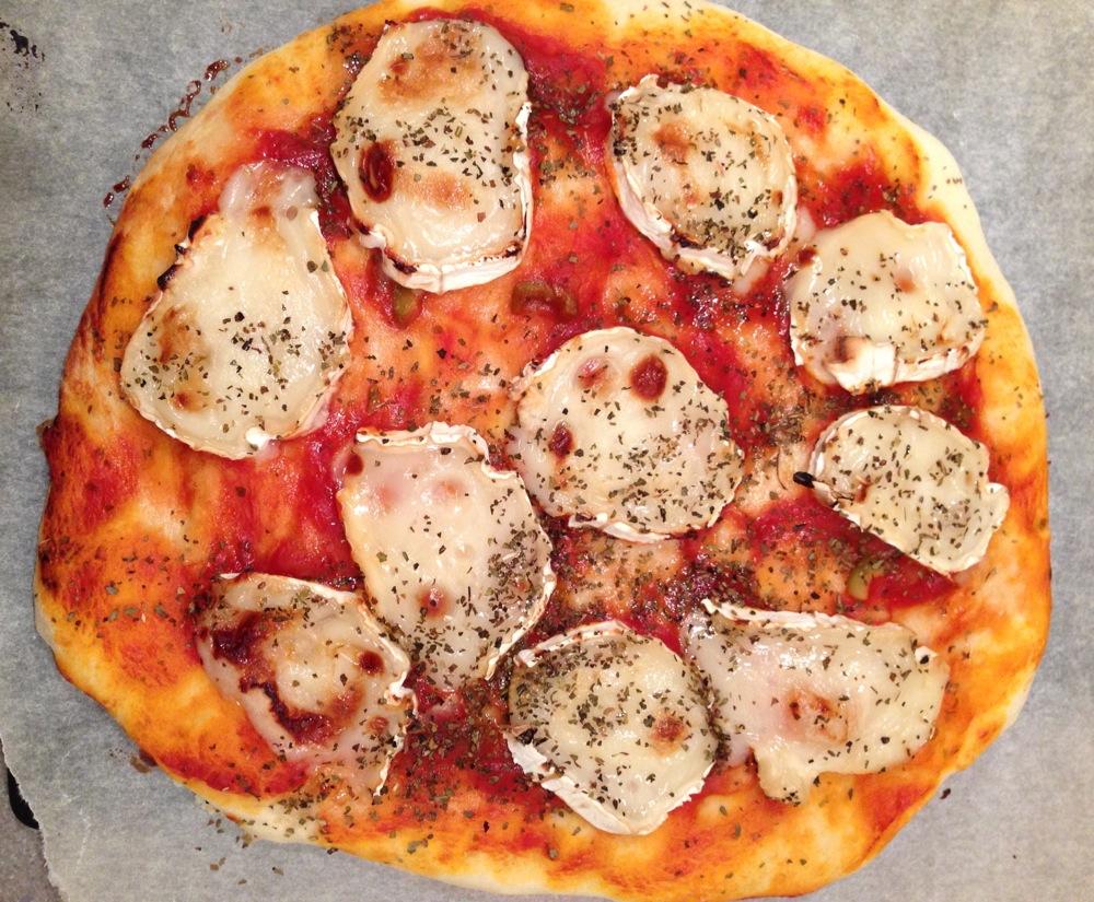 Pizza Chèvre-Miel et Herbes de Provence