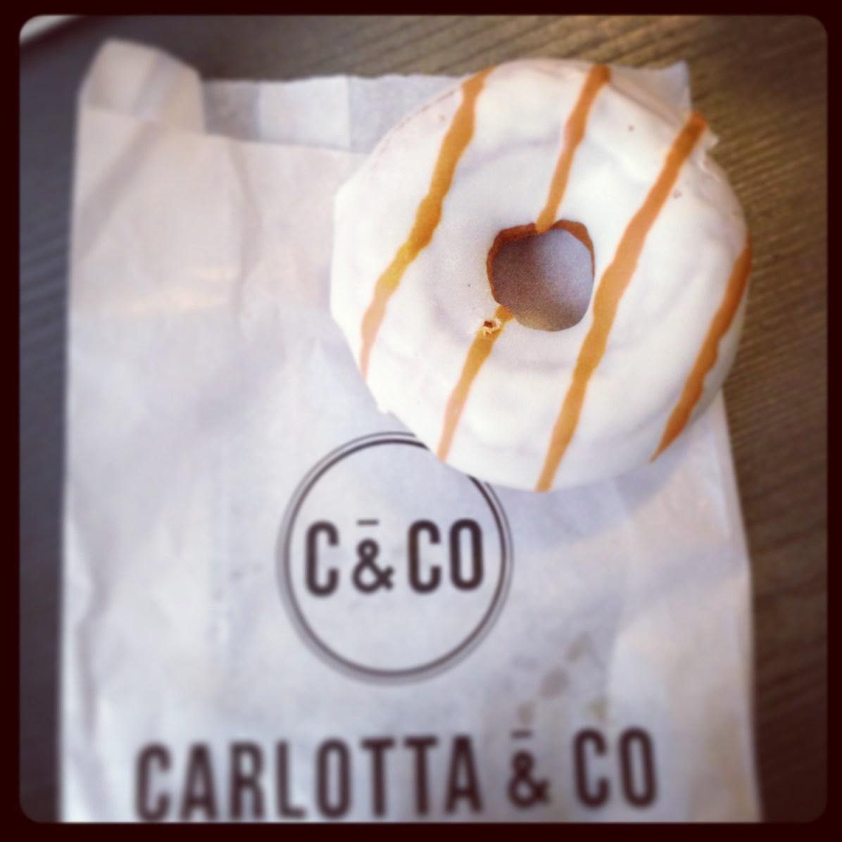Photo Donut au caramel Carlotta & Co