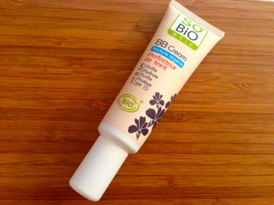 BB Cream texture legere so bio etic 1