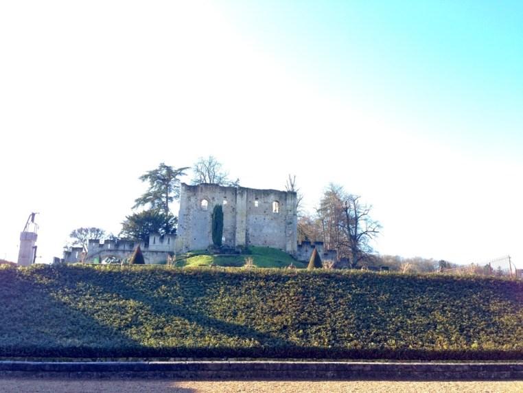 Vestige de la forteresse