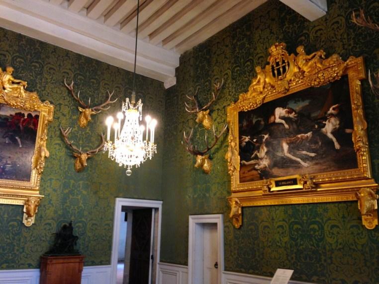 Intérieur de Chambord