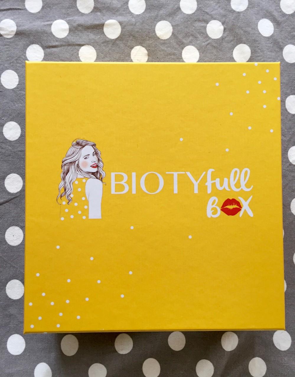 Biotyfull Box Janvier 2016 - 1