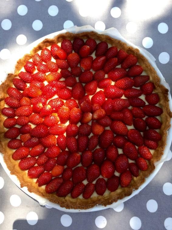 Tarte aux fraises - 1