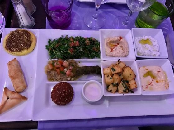 Mezze Végétarien