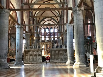 Basilique Santa Maria Gloriosa dei Frari Venise - 2