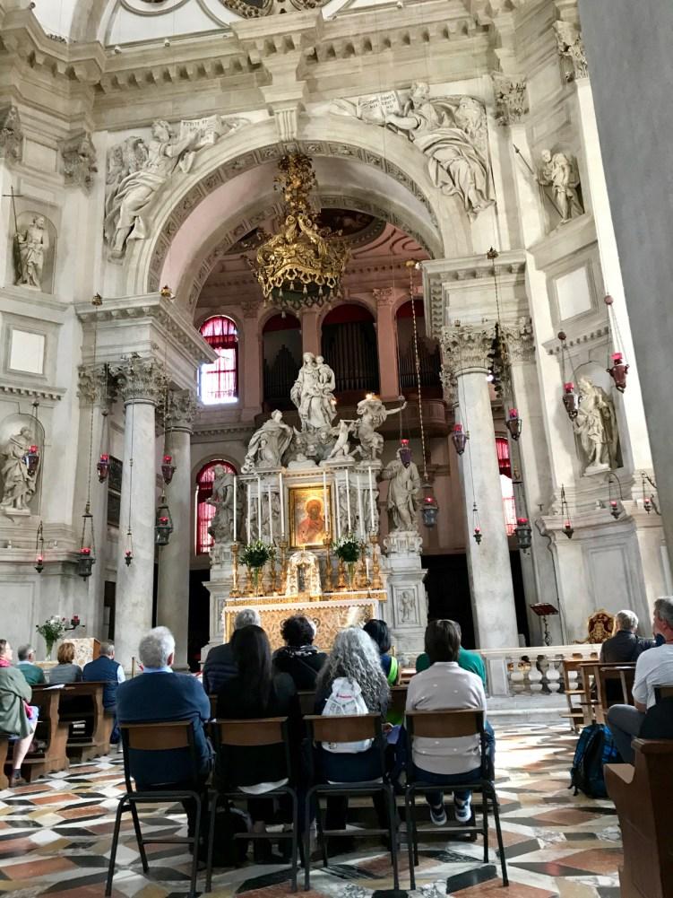 Basilique Santa Maria della Salute Venise - 4