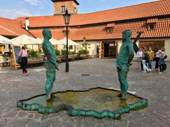 Sculpture David Černý