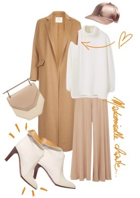 How to wear your camel coat -- for The BlondeSalad