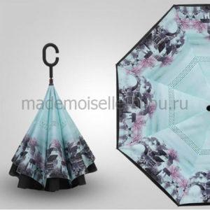 Зонт обратного сложения Up Brella Seasons Sakura