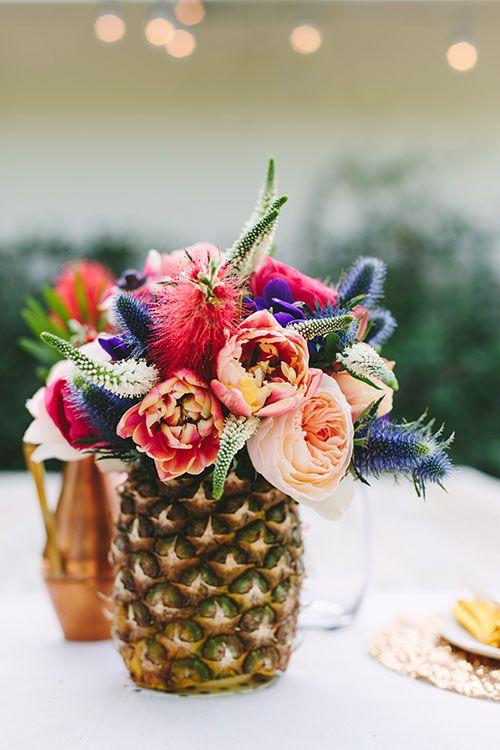 Mariage tropical nos ides de dcoration