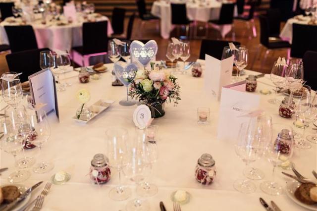 Tische Hochzeit Casino Zug Vintage