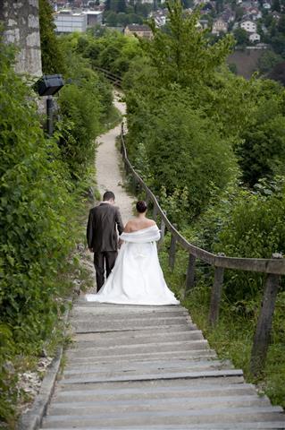 Elegante Outdoor-Hochzeit im Aargau Shooting Baden