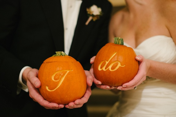 Elegant heiraten zu Halloween