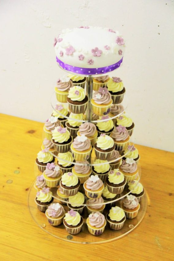 Cupcake Tower Lavendel Little Shabby