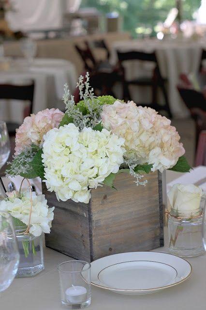 Awesome Hortensien Tischdeko Hochzeit Weiss Vintage Shabby With Vintage  Tischdeko