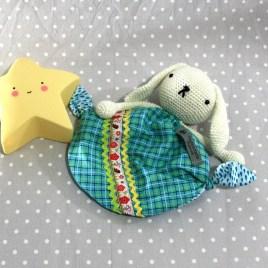 Pimpin, doudou lapin pour bébé