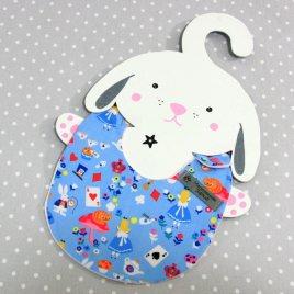 Bavoir bébé 0/8 mois thème Alice