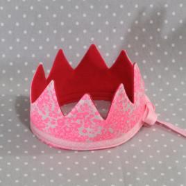 Je suis une princesse: couronne Princesse rose fait main