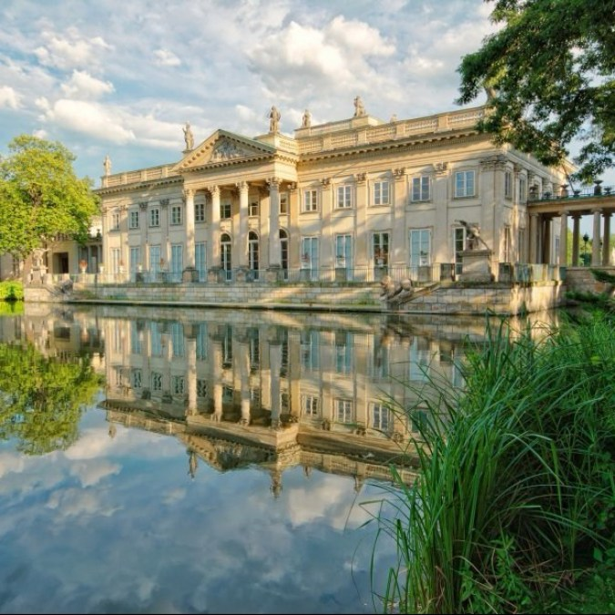 lazienki-park-palace