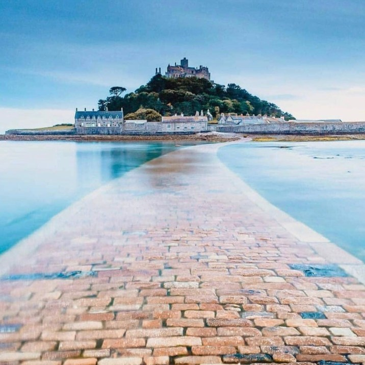Vista su St Michael's Mount