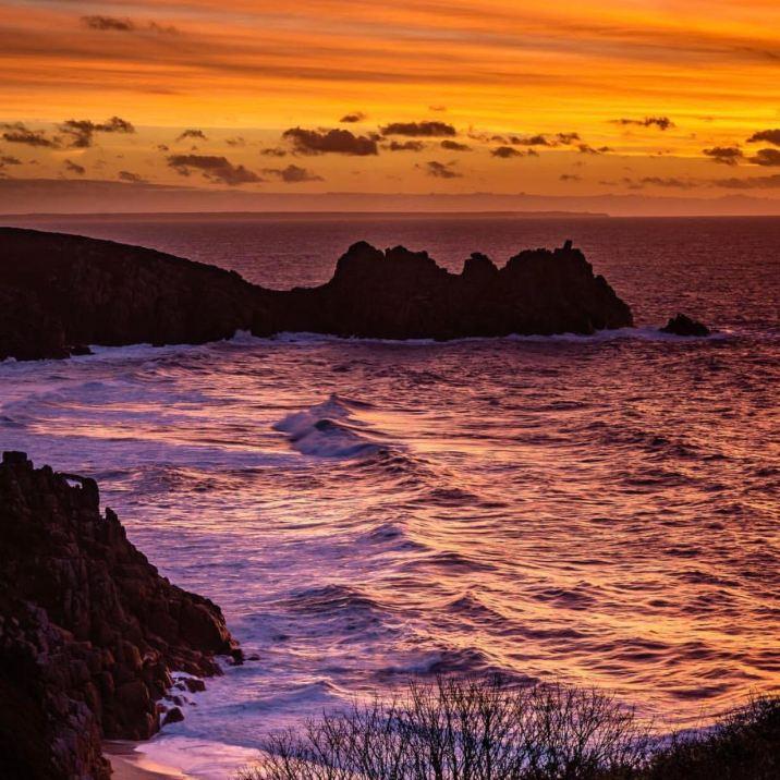 Portchurno al tramonto