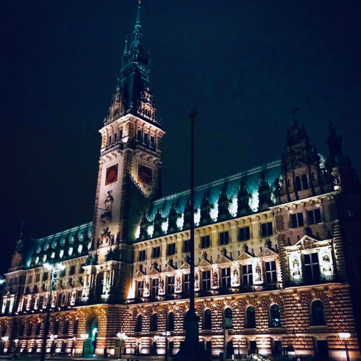 il Rathaus di Amburgo