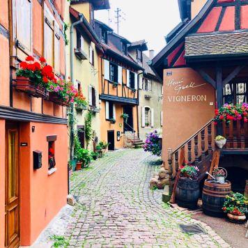 Strada dei vini Alsazia: EGUISHEIM