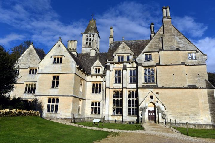 Location di The Crown: Woodchester Mansion