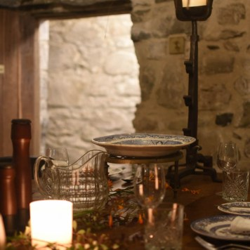 Kilmartin Castle dining room