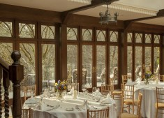 Crossbasket Castle dining room