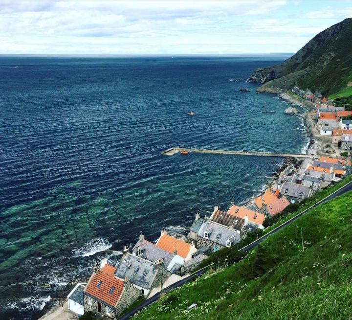 Pennan e Crovie, tra i villaggi di pescatori più suggestivi di Scozia