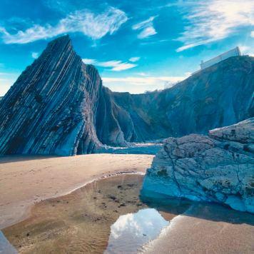 Zumaia Playa de Itzurun