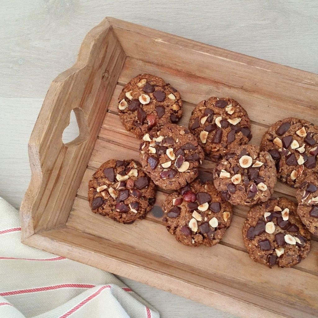 Recette de cookies vegan sans gluten bio. Facile et rapide ! Mademoiselle Coccinelle, blogueuse green