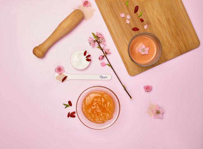 Eclat de smoothie Fleur's - @crédit photo Fleur's